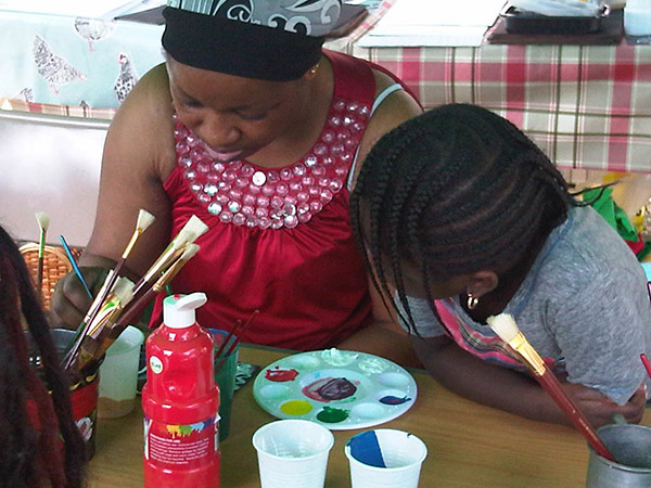 Painting workshop photo