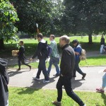 Following the Burgess Park heritage trail