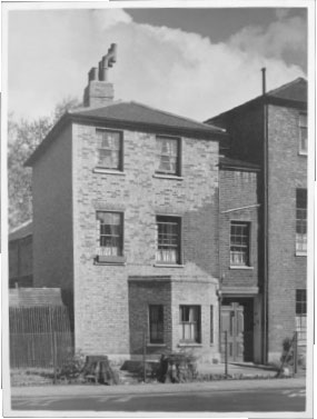 Reproduction of a regenerated house 1952