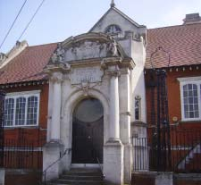 Burgess Park Old LIbrary