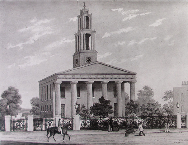 print of St George's Church