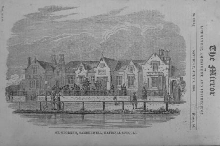 Print of the second St George's National School